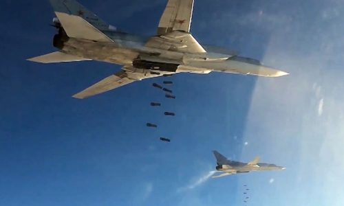 Primo raid aereo congiunto di Russia e Siria
