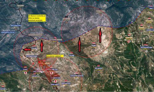 Aggiornamento flash dal fronte siriano del 12-1-2016
