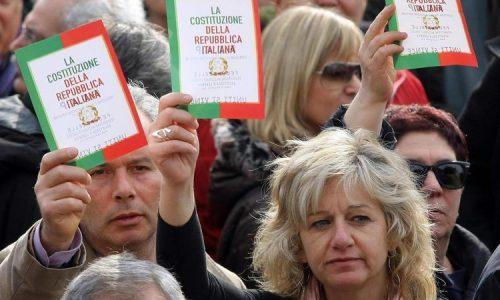 Referendum costituzionale. Firma per le ragioni del No e per bloccare l'Italicum