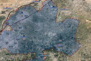 Situazione operativa sui fronti siriani…