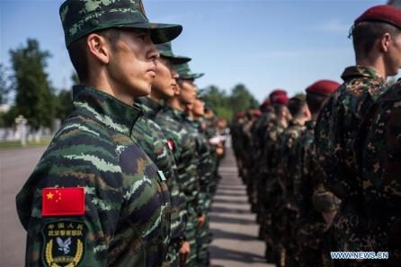 Esercitazioni congiunte anti-terrorismo di Cina e Russia