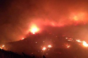 Turchia: incendio vicino a una base NATO