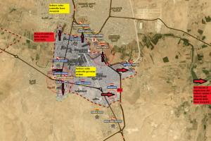 Stefano Orsi: Situazione operativa sui fronti siriani dal 10 al 21 Agosto 2016