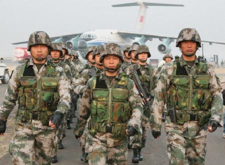 L'esercito cinese supporterà il governo siriano