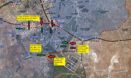 Stefano Orsi: Situazione operativa sui fronti siriani dal 22 al 26 Agosto 2016