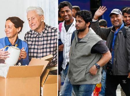 Europa: La sostituzione di una popolazione