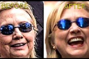 Voilà le due Hillary