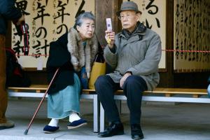 In Giappone, gli ultrasettantenni sono più numerosi dei bambini