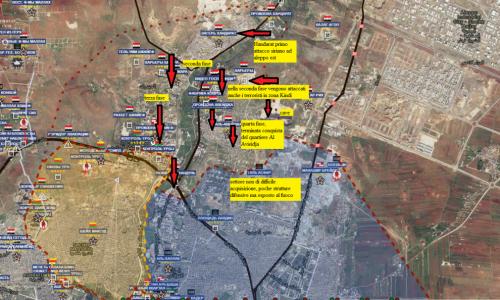 Situazione operativa sui fronti siriani dal 4 al 8 Ottobre 2016 by Stefano Orsi