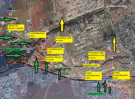 Situazione operativa sui fronti siriani, aggiornamento flash del 28-10-2016 by Stefano Orsi