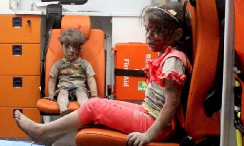 Manipolazione NATO-Al-Qaeda-Caschi Bianchi: La piccola siriana salvata continuamente