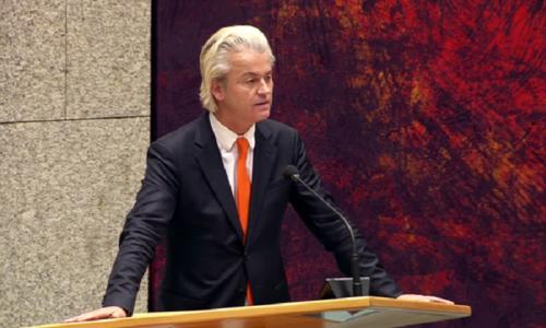 Il piano di Wilders: È giunto il momento della liberazione!