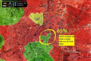 Stefano Orsi: Aggiornamento flash dal fronte di Aleppo est del 7-12-2016