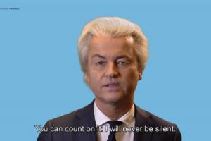 La reazione di Geert Wilders alla sua condanna
