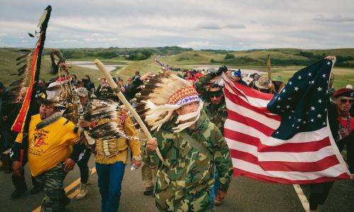 North Dakota: negato il cibo agli Sioux che protestano contro il gasdotto