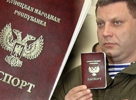 Parigi e Berlino chiedono conto a Mosca sul riconoscimento dei passaporti dei Novorussi d'Ucraina