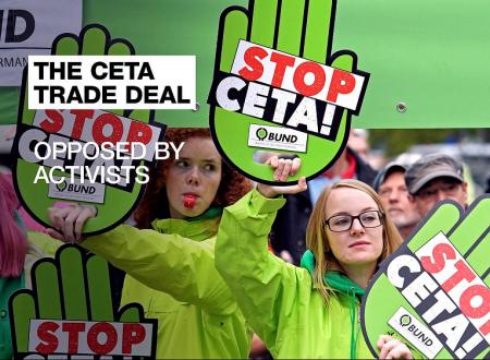 15 Febbraio 2017 voto ratifica provvisoria CETA, chiediamo agli europarlamentari #StopCETA