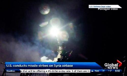 ATTACCO USA ALLA SIRIA: COMUNICATO DEL COMITATO NO GUERRA NO NATO