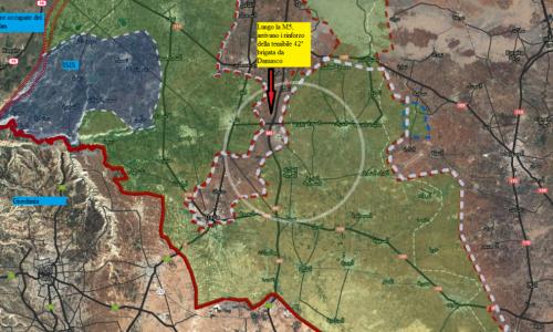 Situazione operativa sui fronti siriani al 2-3-giugno 2017