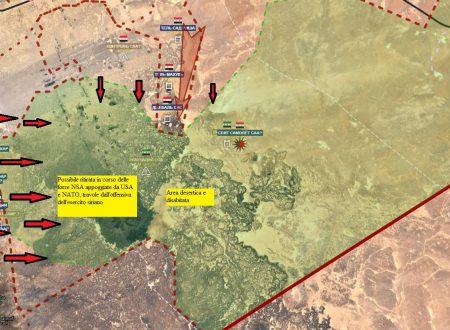 Short news from Syrian fronts/Aggiornamento flash dai fronti siriani dell'11-7-2017 by Stefano Orsi