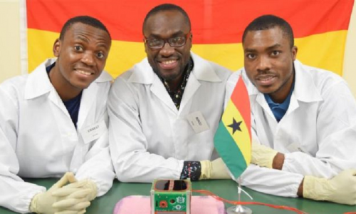 First space satellite launched by Ghana/Il Ghana ha lanciato il suo primo satellite