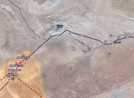 Operative situation of Sirian Fronts/Situazione operativa sui fronti siriani del 21-7-2017 by Stefano Orsi