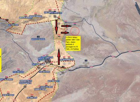 Flash update from Syrian fronts/ Aggiornamento flash dai fronti siriani del 21-8-2017 by Stefano Orsi