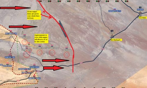 Stefano Orsi: Flash update from Syrian front of Al-Sukhnah/Aggiornamento flash dal fronte siriano di Al Sukhna del 29-8-2017