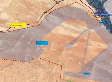 Operative situation of Sirian Fronts/Situazione operativa sui fronti siriani del 13-10-2017 by Stefano Orsi