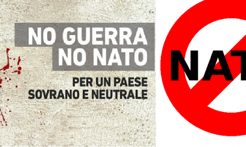 NO TO NUCLEAR BOMBS IN ITALY/NO ALLE BOMBE NUCLEARI IN ITALIA
