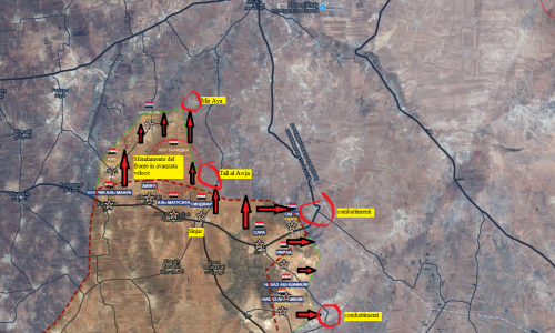 7-1-2018 Situazione operativa sui fronti siriani/Operative situation on the Syrian fronts