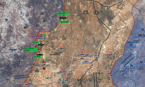 13-1-2018 Situazione operativa sui fronti siriani/Operative situation on the Syrian fronts