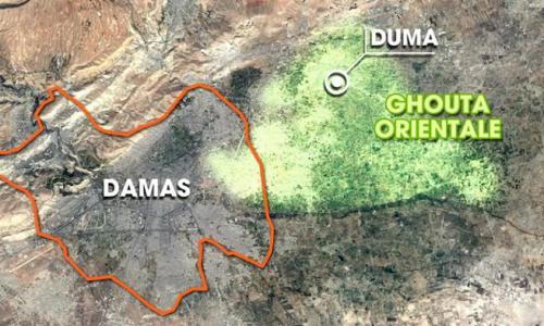 #Syria #GhoutaEst: le tane dei terroristi moderati