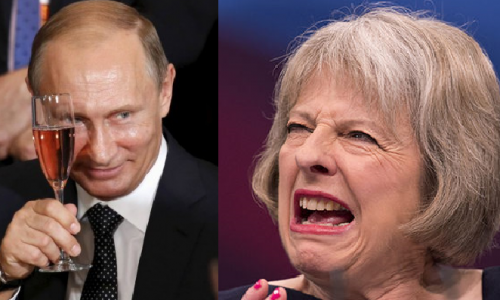 #Putin: lettera indirizzata a Teresa May