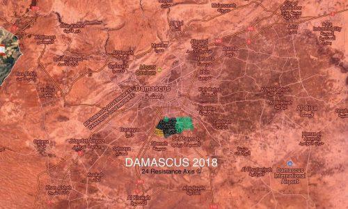 #Syria: Situazione operativa dai fronti siriani al 12-4-2018