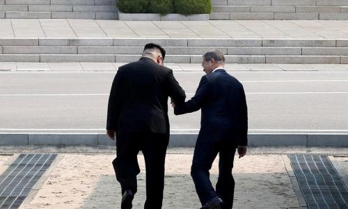 È scoppiata la pace tra le due Coree