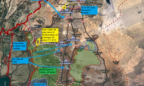 #Syria Situazione operativa sui fronti siriani del 11-5-2018 – VIDEO