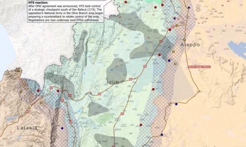 #Syria Situazione operativa sui fronti siriani al 27-9-2018
