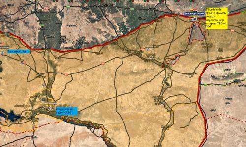 #Syria Situazione operativa sui fronti siriani del 31-8-2018