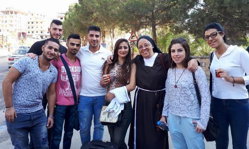 #Syria #CasaPound Intervista con Suor Yola Girges by Stefano Orsi