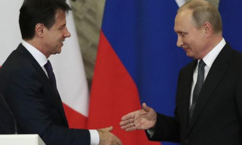 #NoNATO IL CONVITATO DI PIETRA AL TAVOLO ITALIA-RUSSIA