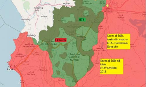 Aggiornamento flash dai fronti siriani del 8-1-2019 by Stefano Orsi