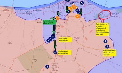 #Libia Aggiornamenti flash dai fronti libici del 13-4-2019 di Stefano Orsi