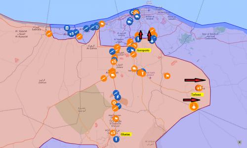 Aggiornamento flash dai fronti libici 6-4-2019 di Stefano Orsi