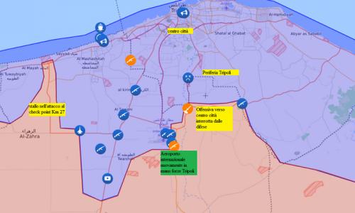 Aggiornamento flash dai fronti libici del 7-4-2019 di Stefano Orsi