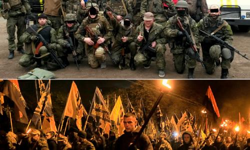 #NoNATO In Ucraina vivaio NATO di neonazisti – VIDEO