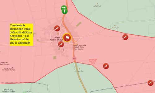 Aggiornamento dai fronti siriani del 21.8.2019 di Stefano Orsi