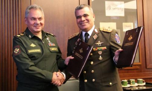 Russia e Venezuela firmano l'accordo di cooperazione militare