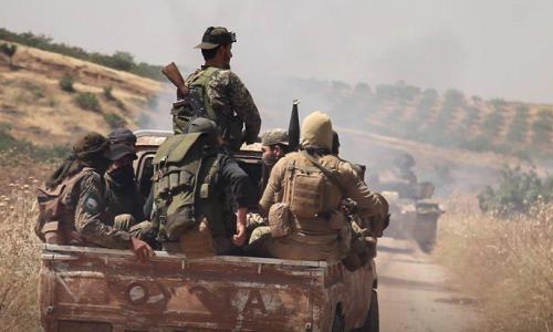 Situazione operativa sui fronti siriani del 9-8-2019 di STEFANO ORSI